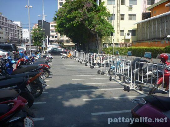 Pattaya avenue parking