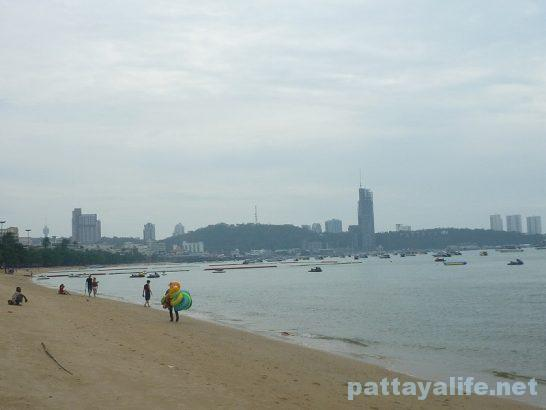 Pattaya beach 2017