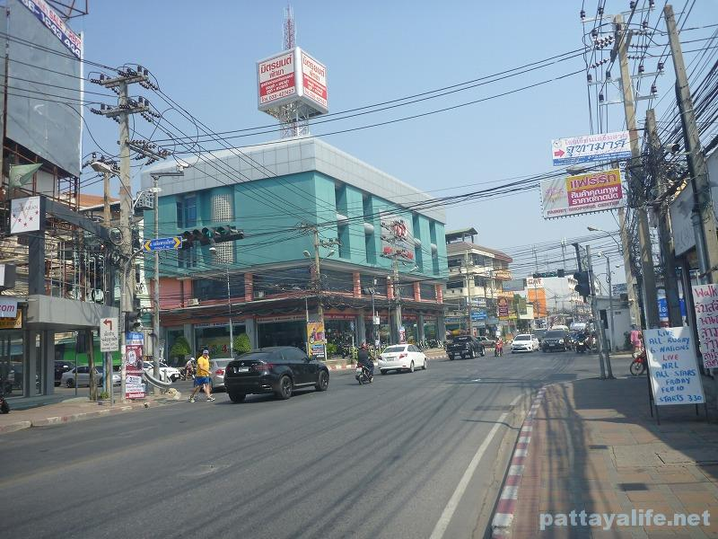 South pattaya road junction