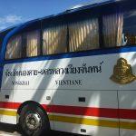 タイビザ取得後、国際バスでビエンチャンからノンカイへ