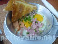18コインズ 18 coins cafe hostel カイガタ egg pan