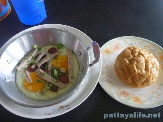 Kai gata Egg pan with bread soi bongkot (1)