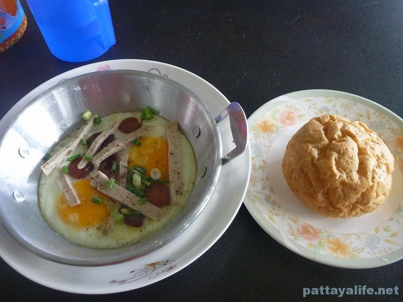 Kai gata Egg pan with bread soi bongkot (1)