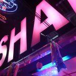 昨日夕方5時のソイ6と深夜のWS、シャークの鯉のぼりとパレスのGEISHAパーティ