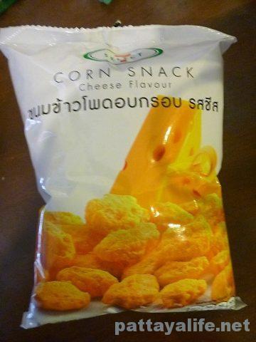 Corn snack タイのコーンスナックセブンイレブン