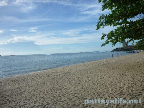 パタヤビーチ Pattaya beach 20170809 (2)
