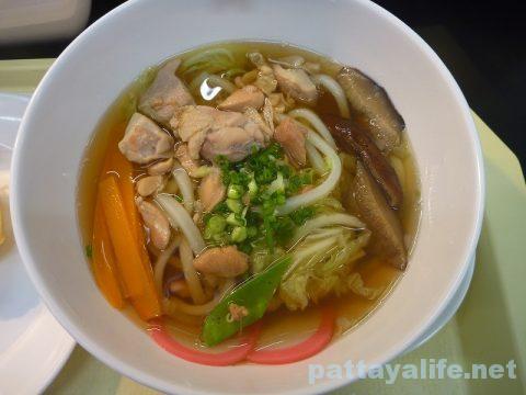 タイ・パタヤの丸亀製麺のしっぽくうどん (1)