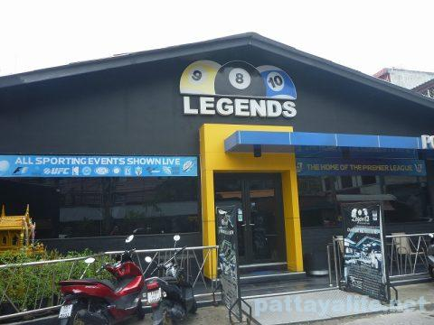 Legends pool & sports bar ビリヤード場 (1)