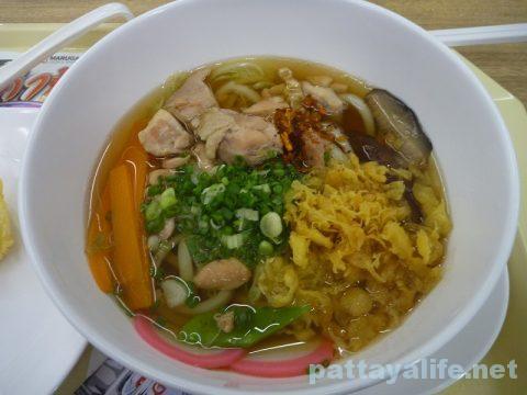 タイ・パタヤの丸亀製麺のしっぽくうどん (3)