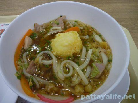 タイ・パタヤの丸亀製麺のしっぽくうどん (4)