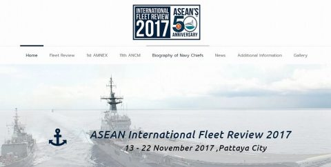 ASEAN International Fleet Reviews 2017