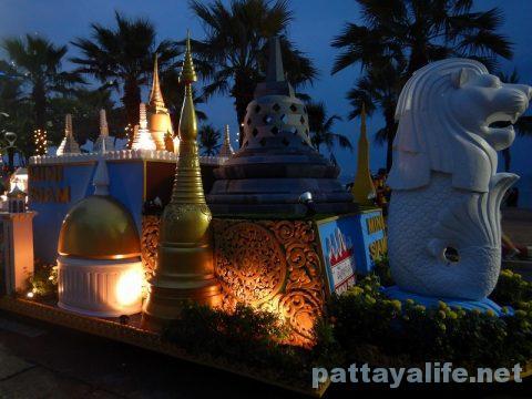 アセアン50周年パタヤビーチパレード (28)