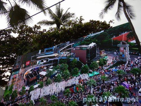 アセアン50周年パタヤビーチパレード (7)