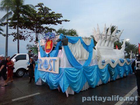 アセアン50周年パタヤビーチパレード (22)
