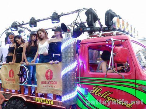 アセアン50周年パタヤビーチパレード (12)
