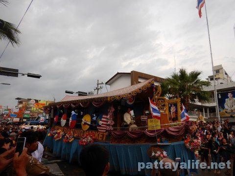 アセアン50周年パタヤビーチパレード (6)