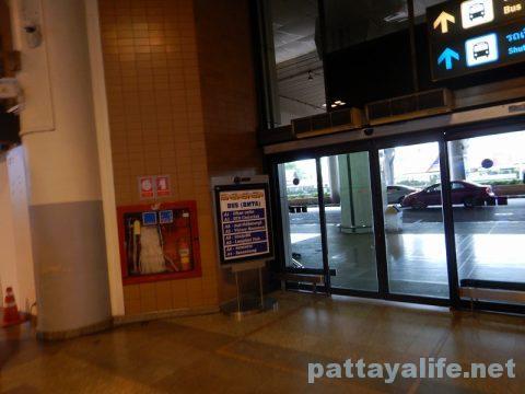 ドンムアン空港からパタヤへバス乗り継ぎ移動 (1)