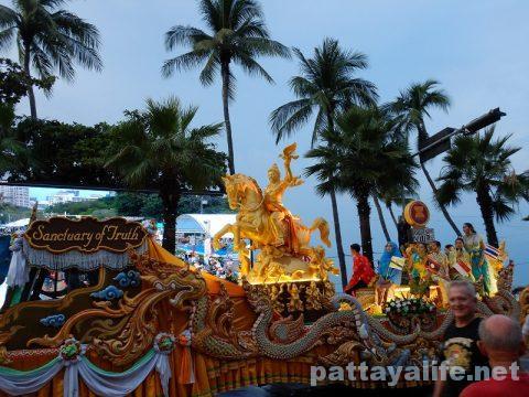 アセアン50周年パタヤビーチパレード (23)