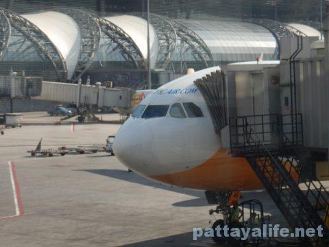 マニラからバンコクセブパシフィック航空搭乗 (22)