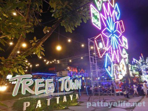 パタヤカウントダウン2018大晦日TREE TOWN (1)