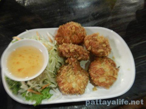 カオトムプラジャンバン料理トートマンクン