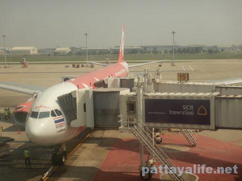 ドンムアン空港エアアジアチェックイン (12)