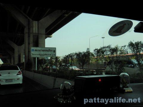 パタヤからドンムアン空港タクシー (9)