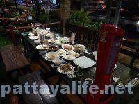 カオトムプラジャンバン料理 食後テーブル