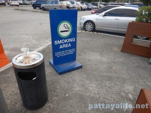 アンヘレスSMクラーク喫煙所