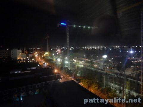 ホテルアメリカからのプリメタ方面夜景