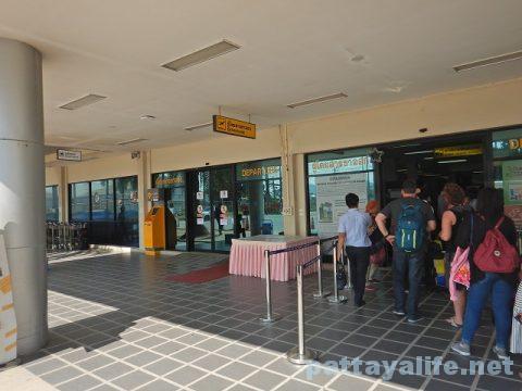 ウタパオ空港からチェンマイ空港行きエアアジア (1)