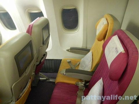 マニラからバンコクへTG625便 (2)