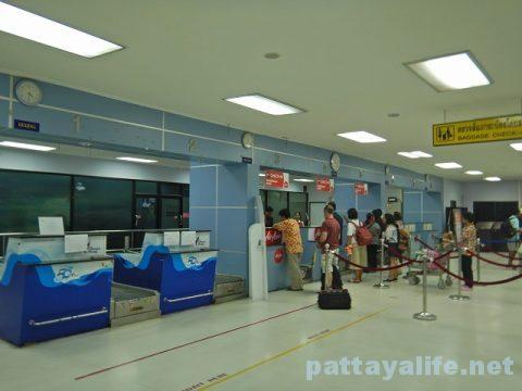 ウタパオ空港からチェンマイ空港行きエアアジア (3)