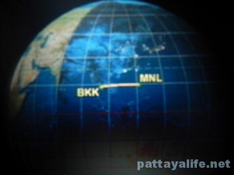 マニラからバンコクへTG625便 (7)