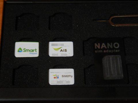 SIMカードケース各国SIMカード