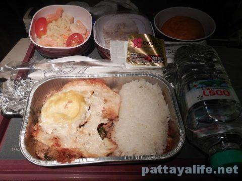 マニラからバンコクへTG625便 (10)