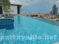 Tホテルパタヤ (36)屋上プールとサウナ