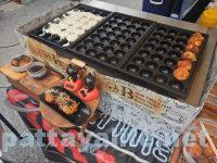 チェンマイサンデーマーケットのたこ焼き (2)