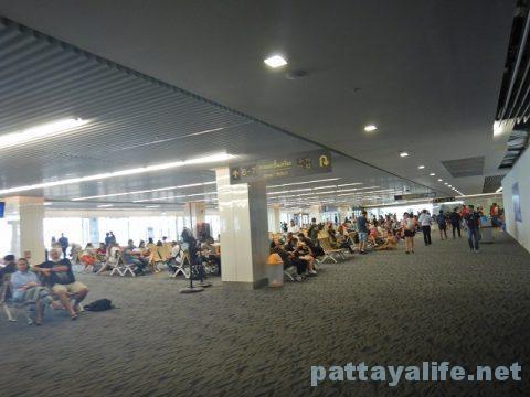 プーケット空港からパタヤウタパオ空港へ (6)