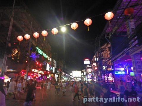 プーケット初日 (33)夜のバングラ通り