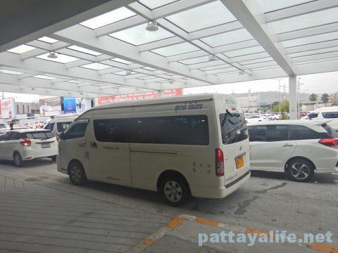 プーケット空港からパトンビーチへミニバス移動 (8)