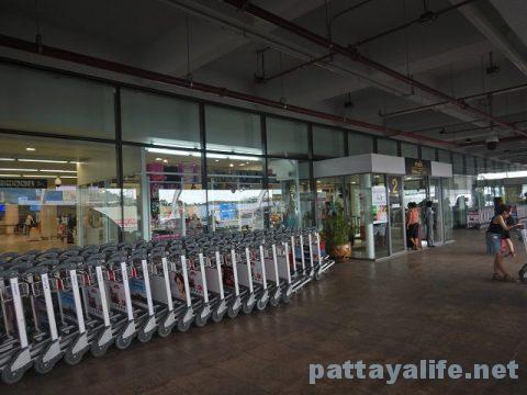 プーケット空港からパタヤウタパオ空港へ (1)