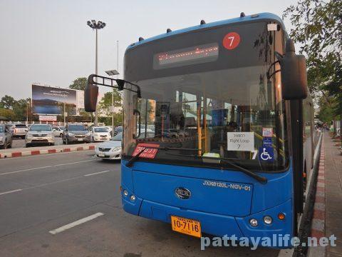 チェンマイ空港エアポートバス (8)