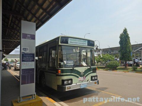 ビエンチャンワッタイ国際空港エアポートバスサービス (2)