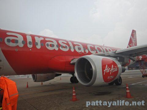 ドンムアン空港からビエンチャンワッタイ空港エアアジア (7)