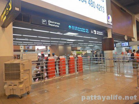 ドンムアン空港からビエンチャンワッタイ空港エアアジア (2)