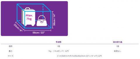 LCC機内持ち込み手荷物制限 (4)