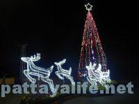 パタヤのクリスマスツリー (5)