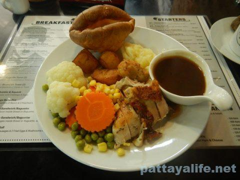 cheap charly's チープチャーリーのローストディナーと日替わりパイ (1)