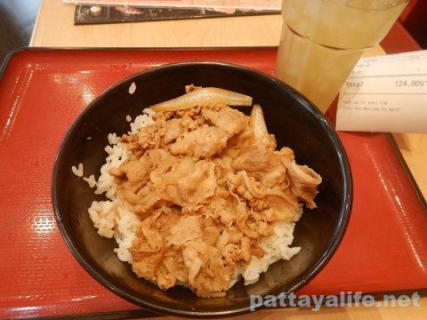 パタヤすき家の牛丼 (1)